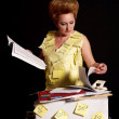 The bookkeeper - Stock Photo