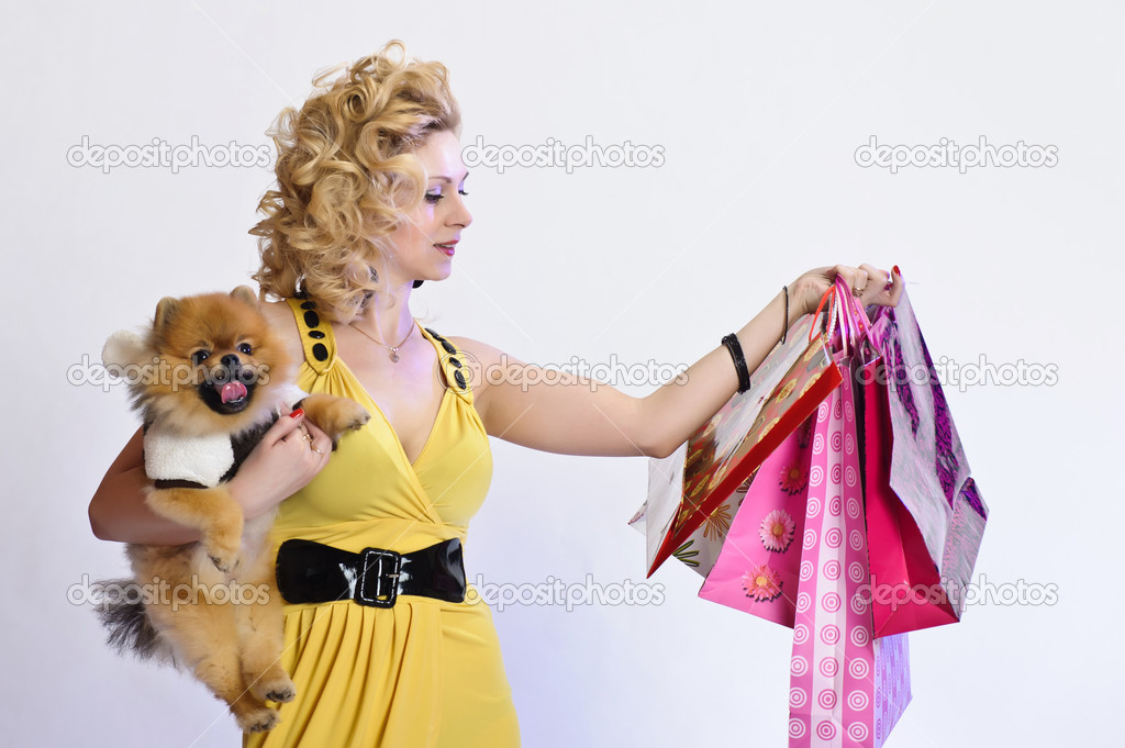 Happy buyer — Stock Photo #5623350