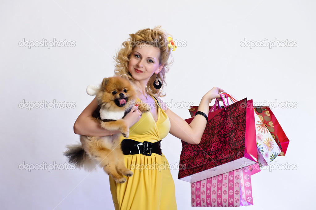 Happy buyer — Stock Photo #5623357