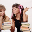 Two girls of the student — Stock Photo #5706066