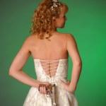 Bride with gun — Stock Photo #6441508