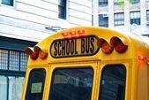 école autobus — Photo