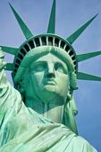 The lady liberty — Stock Photo