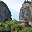 Meteora rocks — Stock Photo