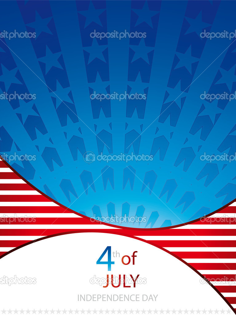 Independence day background.Vector — Stock Vector #5714999