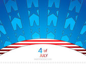 Independence day background — Vecteur