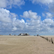 Beach of St. Peter Ording - Stock fotografie