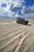 Beach of St. Peter Ording — Stock Photo