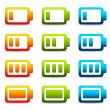Colorful Batteries - Stock Photo