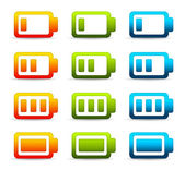 Colorful Batteries — Stock Photo