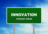 Innovation Street Sign — Stock Photo