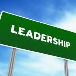Leadership Highway Sign — Stock Photo