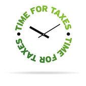 Vergiler için zaman — Stok fotoğraf