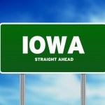 Iowa Highway Sign — Stock Photo #6091194