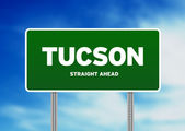 Tucson, Arizona Highway Sign — Stock Photo