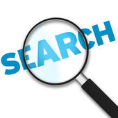 Magnifying Glass - Search — Stock Photo