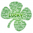 Stock Photo: Words - Clover