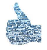 Words - Thumb Up — Stock Photo