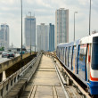 Stock Photo: Bangkok sky train
