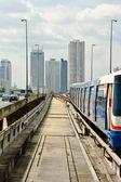 бангкок небо поезд — Стоковое фото