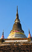 Pagoda at north Thailand temple — Stockfoto