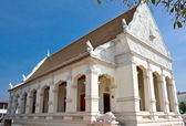 Church of Thai temple in north-east of Thailand — Stock Photo