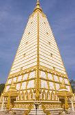Bodhgaya-style stupa in Thailand — Stock Photo