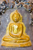 Carving Of Thai Style Lord Buddha — Stock Photo