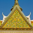 Top part of Thai style architecture — Photo