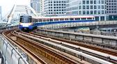 Sky train in Bangkok — Stock Photo