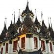 Loha Prasat Metal Palace in Bangkok Thailand named Wat Ratchanada — Stock Photo
