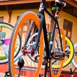 Fixed gear bicycles — Stock Photo #6267443
