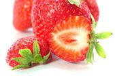 Half Strawberry — Stockfoto