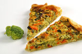 Broccoli and Vegetable pie — Foto Stock