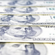 Close-up of American money — Stock Photo