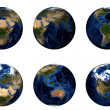 Stock Photo: 3D Planet Earth
