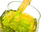 Ice tea splash — Stock Photo