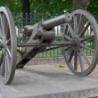An old cannon. — Stock Photo