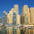 Town scape at summer. Panoramic scene, Dubai. - Stock Photo
