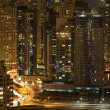 Town scape at night time. Dubai — Stock Photo #6224206