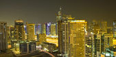 Town scape at night time. Dubai — Stock Photo