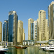 Town scape at summer. Dubai Marina. — Stock Photo #6336036
