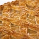Apple homemade pie — Stock Photo