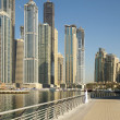 Town scape at summer. Dubai Marina. — Stock Photo #6339037