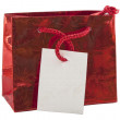 Royalty-Free Stock Photo: Gift bag isolated on the white background