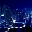 City in the night , Dubai — Stock Photo