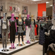 Empty womfashion store with mannequin — Stock Photo #6381485