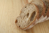 Vers brood gesneden — Stockfoto