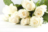 Bunch of white rose — Stock Photo