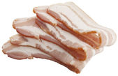 Slices of bacon — Stock Photo